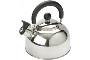 Stainless Steel Whistling Tea Kettle, Ordinary