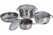 Stainless Steel Belly Shape Cookware