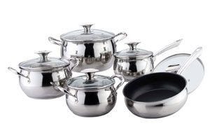Stainless Steel Apple Shape Cookware